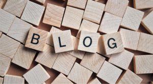 ブログ、はじめの一歩