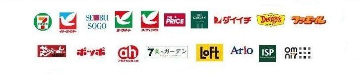 nanacoカードが使えるお店